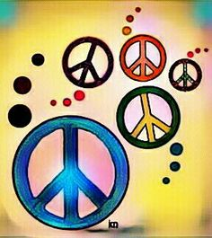 Peace Sign Art ✌ __[Peace sign Art by KN]