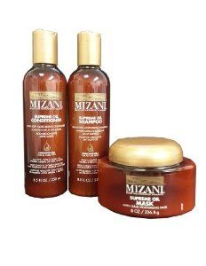 Mizani Moisturizing Shampoo, Conditioner, Mask 8.5oz SET by Vidimear. $47.99. Mizani Supreme Oil Sulfate Free Moisturizing Shampoo 8.5oz - Fast-rinsing, high foam and sulfate-free shampoo offers deep but gentle cleansing with penetrating Argan and surface-coating Sesame Oils Also paraben and silicone free, it helps detangle and smoothes the hair shaft while adding shine and improving compatibility Great for hair that is color treated. Mizani Supreme Ultra-Light Moistu...