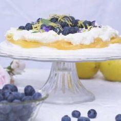 Marängtårta med blåbär