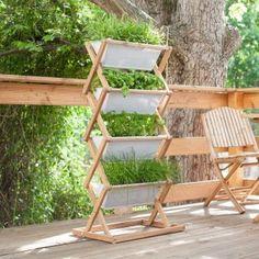 mobiles hochbeet auf rollen f r terrasse und balkon projekt pinterest hochbeet rollen und. Black Bedroom Furniture Sets. Home Design Ideas