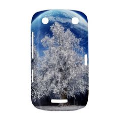 Merry+Christmas+Moon+Night+love+and+peace+BlackBerry+Curve+9380+Hardshell+Case