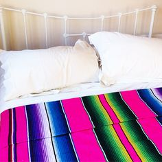 Check out our super cool Sarape blankets! Available at themexicandecor.com