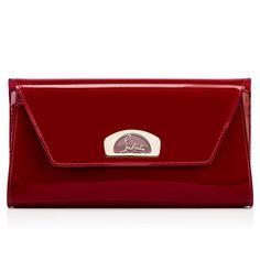 d4a745ad3a44 CHRISTIAN LOUBOUTIN Vero-Dodat Clutch Carmin Patent Calfskin - Handbags - Christian  Louboutin.