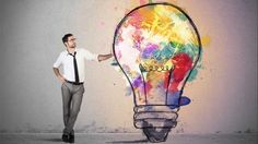 Photo about Concept of Creative business idea with colorful lightbulb. Image of drawing, concept, inspiration - 36094884 Creative Walls, Creative Writing, Creative Jobs, Careers For Creative People, More Than A Feeling, Boost Creativity, Persuasive Writing, Intuition, Creative Business