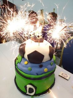 Soccer Ball Cake 2012