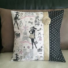 Sew Pillow интерьер прованс декор: 24 тыс - This Pin was discovered by Bri Sewing Pillows, Diy Pillows, Decorative Pillows, Cushions, Throw Pillows, Cushion Cover Designs, Cushion Covers, Pillow Covers, Patchwork Cushion