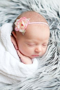 Baby Girl Headbands  Pink Flower Headband   by addiebellaboutique, $6.75