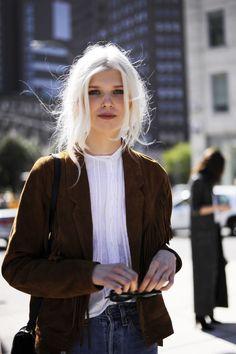 Ola Rudnicka, model. Photo: @ashleyjahncke