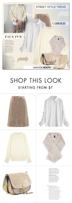 """""""Untitled #2122"""" by elena-777s ❤ liked on Polyvore featuring Bottega Veneta, The Row, Reiss and winter2018"""