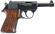 "Unique ""One-Of-A-Kind"" Experimental Walther 9 mm Ultra Semi-Automatic Pistol.  The 9 mm Ultra Pistol and associated cartridges were developed on an experimental basis by Walther, for the Luftwaffe.  http://www.rockislandauction.com/viewitem/aid/56/lid/1502"