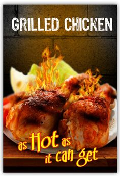 #GRILLED #CHICKEN Pollitos Chicken wings are one of the most popular appetizers at Pollito's. The Crumpy hot kick comes from using the #hottest, #spiciest barbecue sauce your taste buds can handle.