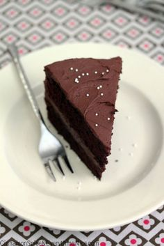 One-Bowl Chocolate Cake with Cocoa Cream Frosting by Cinnamon Spice and Everything Nice