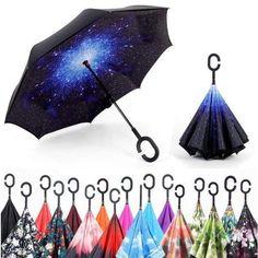 Coolstuffs Wolf Foldable Umbrella Travel Umbrellas for Women