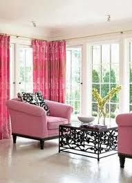 More pink.  Maybe I'll add it to my houndstooth sofa.