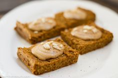 Easy pumpkin pie squares with candied ginger : TreeHugger