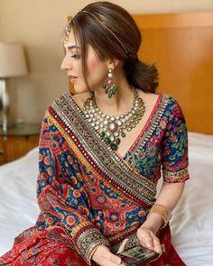 Indian Bridal Outfits, Indian Fashion Dresses, Indian Bridal Fashion, Dress Indian Style, Indian Designer Outfits, Bridal Dresses, Designer Dresses, Lehenga Blouse, Sari Dress