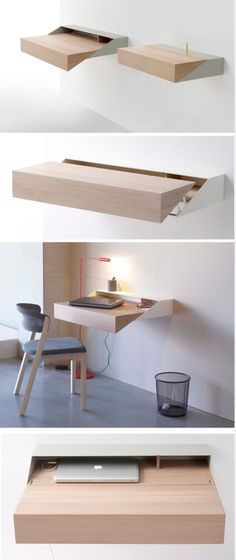 Simple and Creative Ideas: Floating Shelves Entryway Home Office floating shelf design night stands.Floating Shelves With Lights Work Spaces floating shelf living room sinks.Floating Shelves Around Tv Shelf Arrangement. Deco Design, Wood Design, Design Design, Graphic Design, Smart Furniture, Furniture Design, Bedroom Furniture, Office Furniture, Furniture Ideas