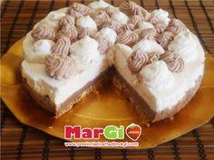 torta gelato al cioccolato e crema: torte senza forno
