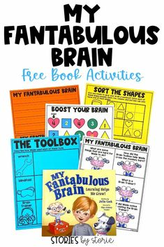 My Fantabulous Brain by Julia Cook introduces students to the tools and strategies needed to help make their brains stronger. Here are several free activities you can pair with this book.
