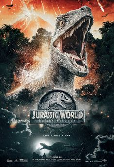 About The Most Complete Jurassic World Films (Cast, Alive, 2 and Jurassic World Cast, Jurassic World Poster, Jurassic World Movie, Jurassic Park Series, Jurassic World Fallen Kingdom, Jurrassic Park, Park Art, Posters Vintage, Michael Crichton