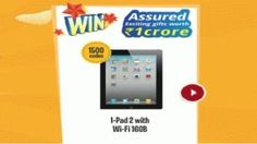 Stand a chance to Win Trip and ipad Visit at here : http://tinyurl.com/pyv5edl