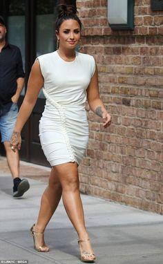 Copy Demi in a chic Ronny Kobo dress #DailyMail