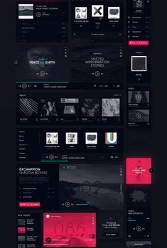 Daphne is huge Dark UI Kit. Full of many useful elements and ideas for your next great project! Every components is named and organized into groups or subgroups. All layers are organized and structured.It is really easy to find and change something in th…