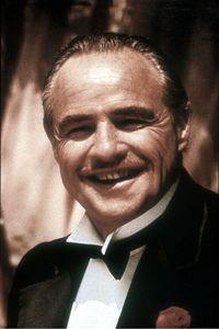 "Marlon Brando (""The Godfather"") Marlon Brando The Godfather, Marlon Brando Movies, Godfather Movie, Louise Brooks, Robert Redford, Olivia Wilde, Steve Mcqueen, James Dean, Brad Pitt"