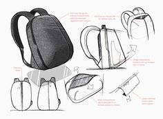 Aer Fit Pack: The Gym/Work Bag Designed for the City by Aer — Kickstarter