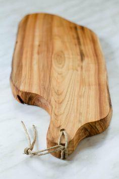 Handmade Cherry wood cutting board - Tagliere in legno di ciliegio ...
