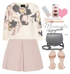 """Untitled #320"" by jovana-p-com ❤ liked on Polyvore featuring Alexander McQueen, By Malene Birger, N'Damus, Bourjois and Casetify"