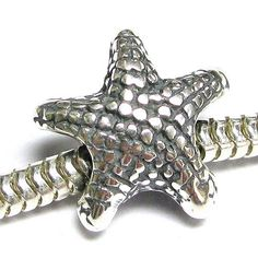 Queenberry Sterling Silver Fish Bone European Style Clasp Charm