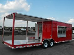 we are best trailers and supply and specialize in your trailer needs be it sales or repairs and service work, we carry a wide range of trailer encluding covered wagon trailer, down to earth and aluma trailers Catering Trailer, Bbq Catering, Porch For Trailer, Taco Cart, Custom Bbq Pits, Mobile Catering, Best Trailers, Motorcycle Trailer, Trailer Plans