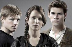 Peeta, Katniss and Gale