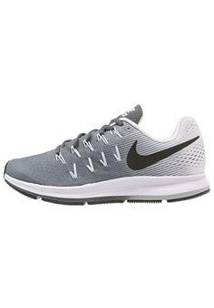 buy online 72935 7ea6f AIR ZOOM PEGASUS 33 - Chaussures de running neutres - dark grey black white    ZALANDO.BE 🛒. Sport NikeNike ...