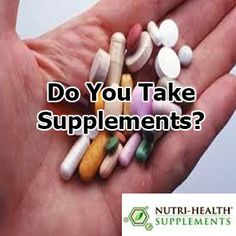 Do You Take #Supplements ?