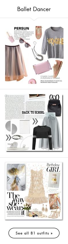"""""""Ballet Dancer"""" by yours-styling-best-friend ❤ liked on Polyvore featuring dance, girly, ballet, Brunello Cucinelli, Illesteva, Zara, Stop Staring!, Uncommon Matters, Norma Kamali and 1928"""