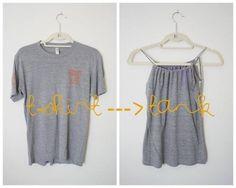 Customisação de camiseta