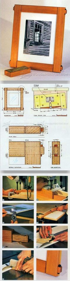 Woodworking is one of the most fun crafts around. In this article, I'm going to share with you some woodworking tips and tricks I've accumulated over t Woodworking Furniture Plans, Woodworking Projects That Sell, Popular Woodworking, Woodworking Tips, Small Wood Projects, Diy Projects, Picture Frames, Wood Working, Project Ideas