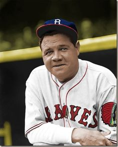 Babe Ruth: Heroes get remembered, legends never die.