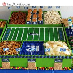 When New Day Northwest asked me to create a Snack Stadium to celebrate the Seattle Seahawks in the Super Bowl, I was IN! Creating a snack stadium is easier than you think! Although my green cardboard display boxes were donated to me by Party City, you can easily use boxes lined with parchment paper or...Read More »