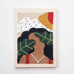 Embroidery Kits, Embroidery Stitches, Textiles, Beginning Embroidery, Weaving Wall Hanging, Diy Pillow Covers, Punch Needle Patterns, Penny Rugs, Lino Prints