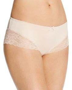 Fine Lines Microfiber Galloon Lace Hipster #MB072