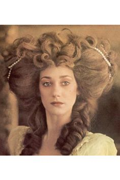 A starring role in Stanley Kubrick's Barry Lyndon followed in 1975. Moving at a stately pace, the costume drama served Marisa well; very few actresses can pull off such big hair and still look so dignified.