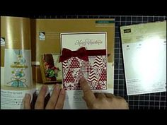 Joan Robertson's Trending Tuesday Video on www.DailyStampede.com Shows a card made with Stampin' Up! inspired from magazine trends