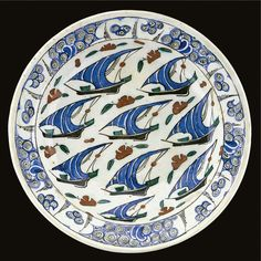 An Iznik polychrome dish, Turkey, circa 1575 | Lot | Sotheby's
