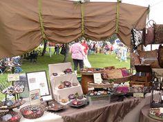 craft fair table / booth