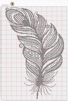 Thrilling Designing Your Own Cross Stitch Embroidery Patterns Ideas. Exhilarating Designing Your Own Cross Stitch Embroidery Patterns Ideas. Filet Crochet, Crochet Cross, Crochet Chart, Cross Stitch Bird, Cross Stitch Charts, Cross Stitch Designs, Cross Stitching, Blackwork Embroidery, Cross Stitch Embroidery