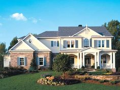 Eplans Colonial Revival House Plan - A Five Bedroom Beauty - 4403 Square Feet and 5 Bedrooms(s) from Eplans - House Plan Code HWEPL06523