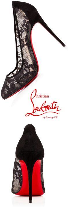 Christian Louboutin 'Dorissima Lace'  |   Emmy Dee  @  christian  louboutin